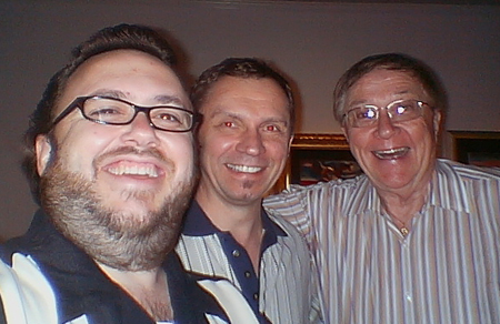 Chad Frye, Disney animator Andreas Deja, and retired Disney animation artist Carl Bell who can tell stories of days at the studio when Walt was still around.