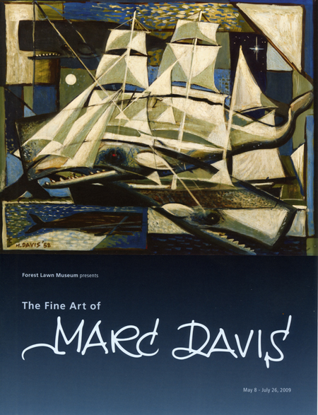"This is the cover of the program book for ""The Fine Art of Marc Davis"" exhibit."