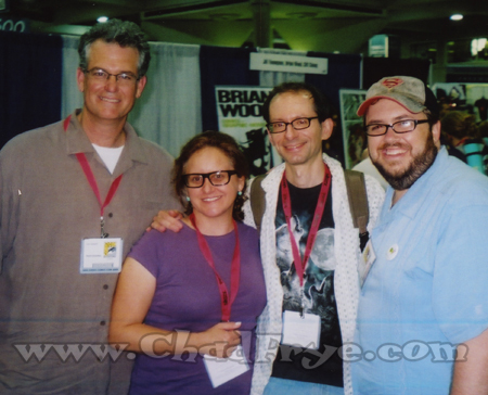 "Former Seinfeld writer/producer Tom Gammill who now draws the comic strip ""The Doozies"" with ___ and David Cohen (co-creator of Futurama) and Chad Frye."