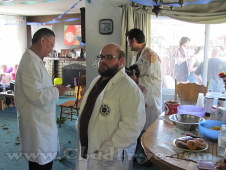 Yes, we even had Dharma Initiative scientists.