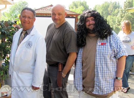 And our final parting shot of my friend Doug Engalla on the left, our version of John Locke, and then yours truly.