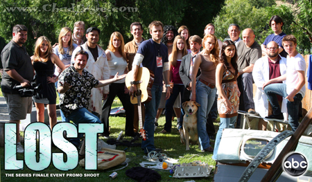 The cast from Steve Czarnecki's entry in the Walt Disney Studio's employee LOST video contest held in May of 2010.