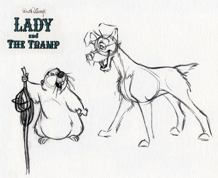 Lady and the Tramp art