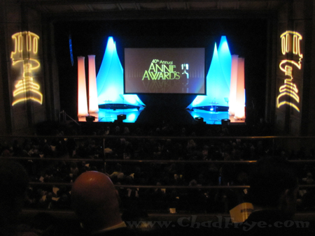 Annie Awards stage