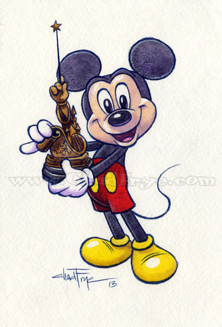 Mickey mouse thugged out