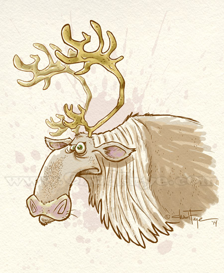 animated caribou