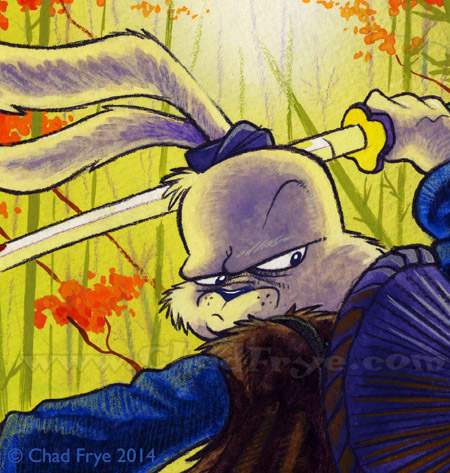 Usagi Yojimbo up close